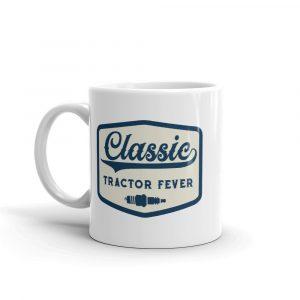 Classic Tractor Fever Spark Plug Mug