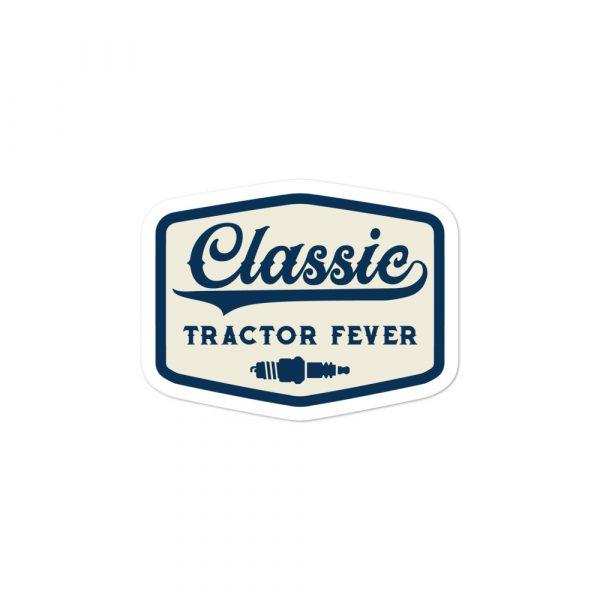 Classic Tractor Fever Spark Plug Sticker
