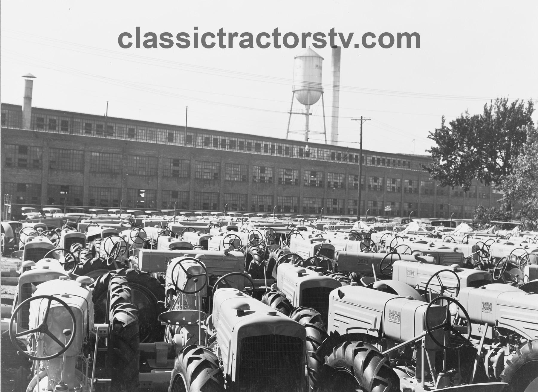 Minnesota 1939 Historic Photo Print Tractors at Minneapolis-Moline Factory